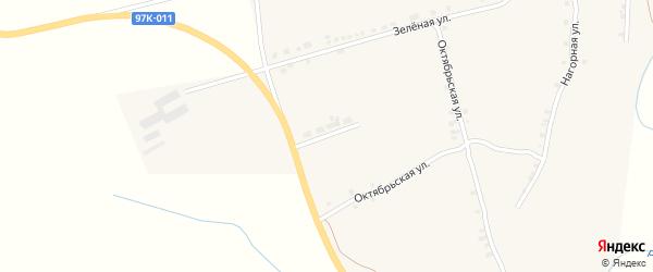 Придорожная улица на карте села Ряпино с номерами домов