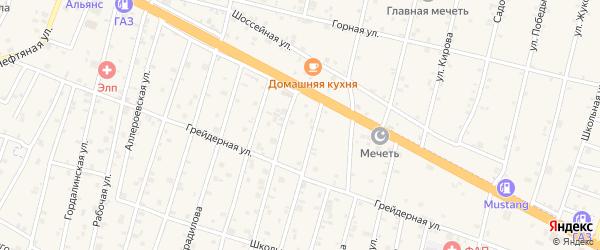 Улица Махтиева на карте села Бильтой-юрт с номерами домов