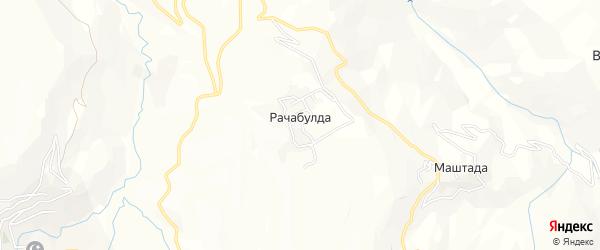 Карта села Рачабулды в Дагестане с улицами и номерами домов