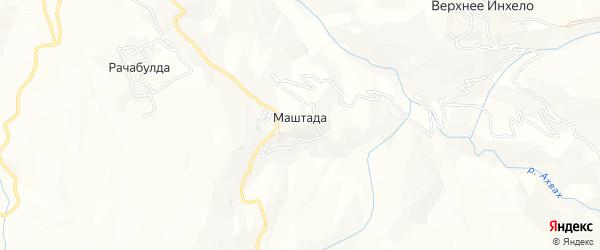 Карта села Маштады в Дагестане с улицами и номерами домов