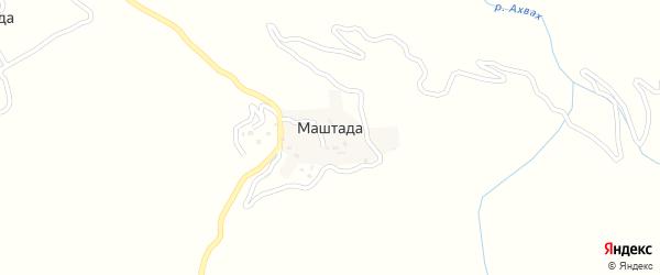 Маштадинская улица на карте села Маштады с номерами домов