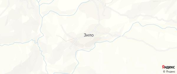 Карта села Зила в Дагестане с улицами и номерами домов