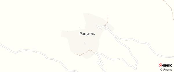 Рацитлинская улица на карте села Рацитля с номерами домов
