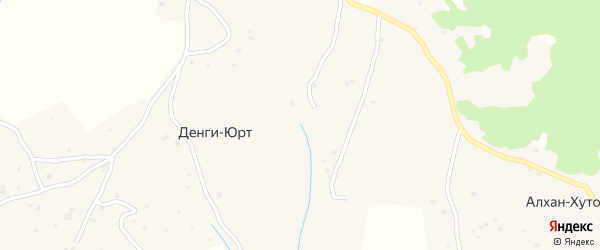 Улица Х.Х.Хататаева на карте села Пачу с номерами домов