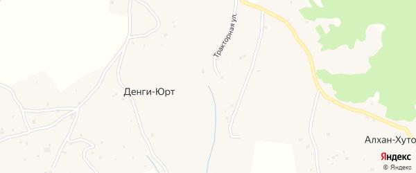 Улица А.А.Кадырова на карте села Пачу с номерами домов