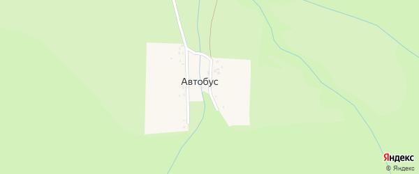 Лесная улица на карте поселка Автобуса с номерами домов