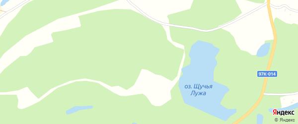 Территория сдт Коммунальник-1 на карте Чебоксар с номерами домов