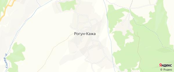 Карта села Ишхой-хутора в Чечне с улицами и номерами домов