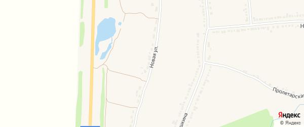 Новая улица на карте Напольного села с номерами домов