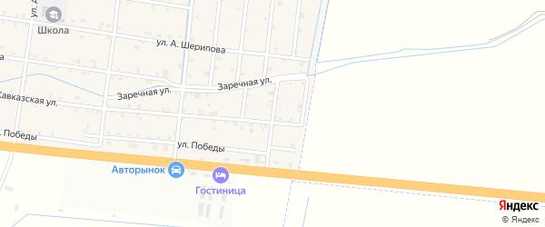 1-й переулок на карте села Кошкельды с номерами домов