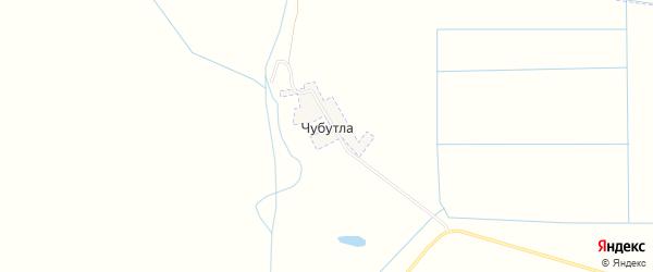 Карта села Чубутлы в Дагестане с улицами и номерами домов