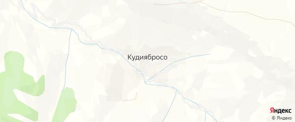 Карта села КудиябРоса в Дагестане с улицами и номерами домов