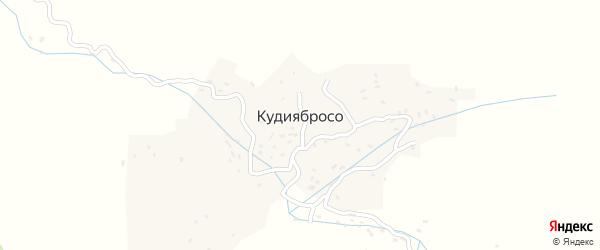 Кудиябросинская улица на карте села КудиябРоса с номерами домов