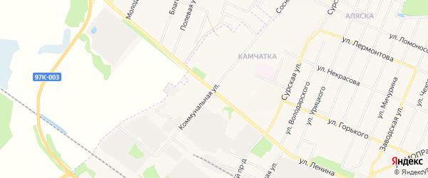 ГСК Север на карте Коммунальной улицы с номерами домов