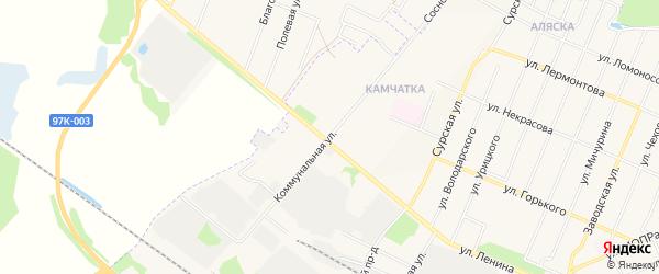 ГСК Камчатка на карте Коммунальной улицы с номерами домов