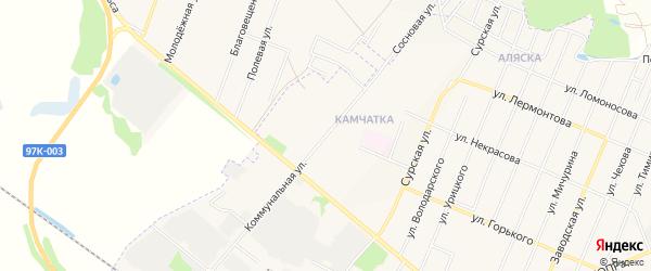ГСК Мотор на карте Коммунальной улицы с номерами домов