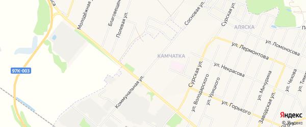 ГСК Монтажник на карте Коммунальной улицы с номерами домов