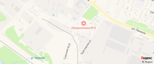 Кумашкинская улица на карте Шумерли с номерами домов