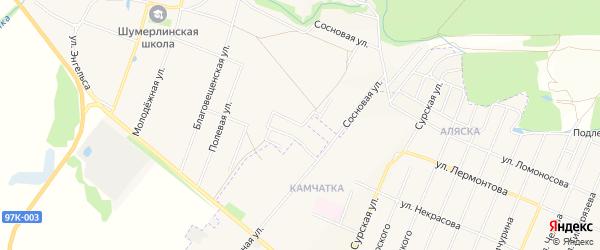 Южный ГСК на карте Коммунальной улицы с номерами домов