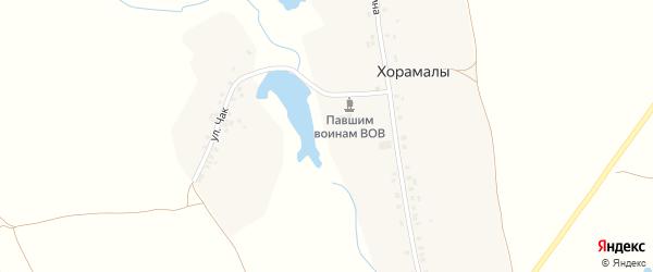 Улица Чак на карте деревни Хорамалы с номерами домов