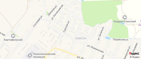 Молодежная улица на карте Шумерли с номерами домов