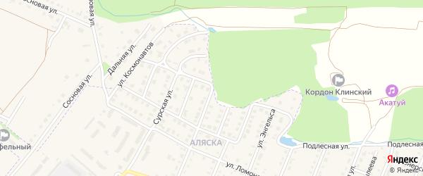 Пионерская улица на карте Шумерли с номерами домов