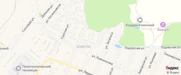Улица Королева на карте Шумерли с номерами домов
