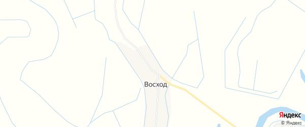 Карта поселка Восхода в Чечне с улицами и номерами домов