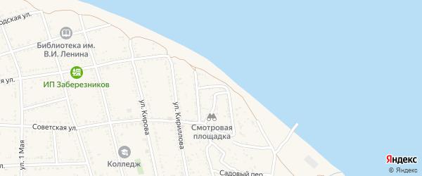 Переулок Докучаева на карте Никольского села с номерами домов