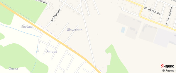 Гражданская улица на карте Шумерли с номерами домов