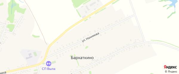 Улица Нахимова на карте Николаевского села с номерами домов