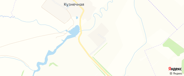 Карта Кузнечной деревни в Чувашии с улицами и номерами домов