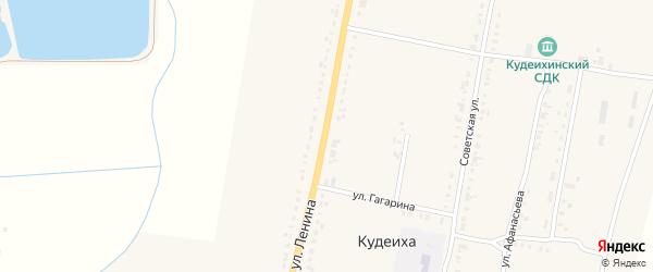 Улица Ленина на карте села Кудеихи с номерами домов