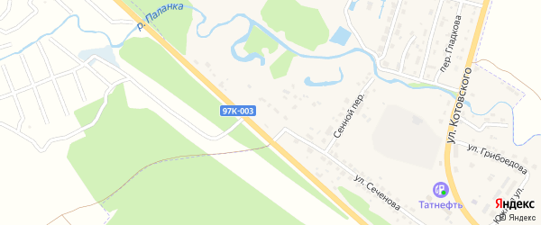 Улица Стройучасток на карте Шумерли с номерами домов