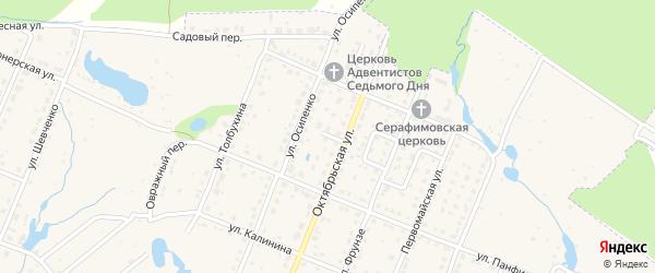 Улица Разина на карте Шумерли с номерами домов