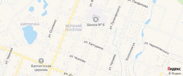 Первомайская улица на карте Шумерли с номерами домов