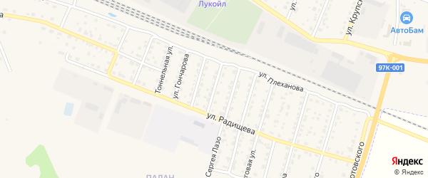 Улица Гастелло на карте Шумерли с номерами домов