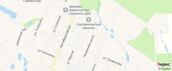 Переулок Макаренко на карте Шумерли с номерами домов