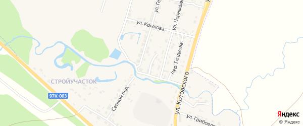 Проезд Чернышевского на карте Шумерли с номерами домов
