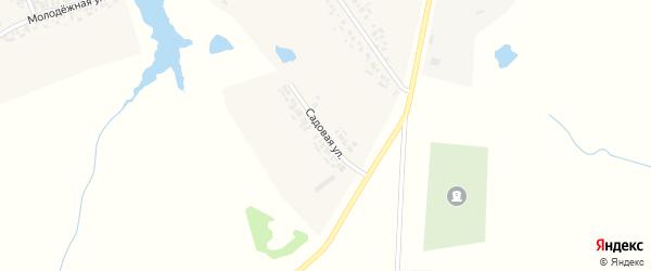Садовая улица на карте деревни Вурманкас-Ядрино с номерами домов
