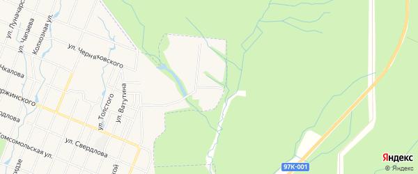 СТ Химик-Здоровье на карте Шумерли с номерами домов
