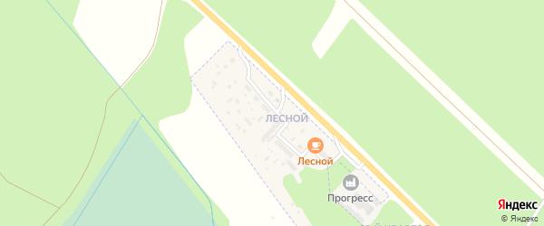 Лесной поселок при станции на карте Шумерли с номерами домов