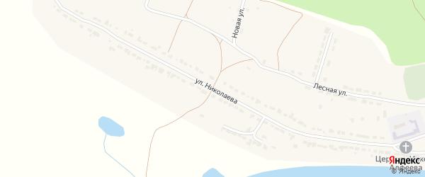 Улица Николаева на карте села Чуварлеи с номерами домов