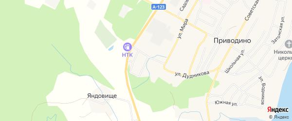 ГСК гараж на 7 боксов на карте улицы Нефтяников с номерами домов