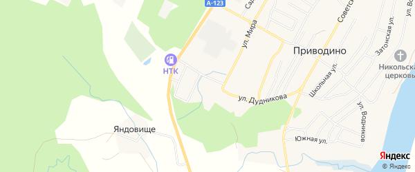 ГСК 3 на карте улицы Мира с номерами домов