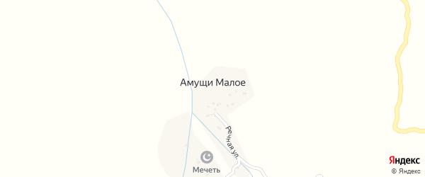 Улица С. Нурмагомедова на карте села Амуши с номерами домов