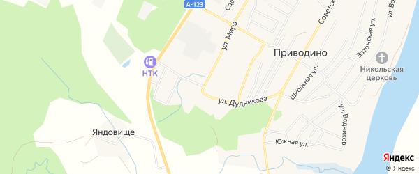 ГСК ГСПК 2 на карте улицы Мира с номерами домов