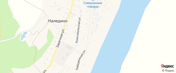Набережная улица на карте поселка Приводино с номерами домов