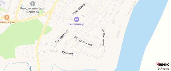 Первомайская улица на карте поселка Приводино с номерами домов