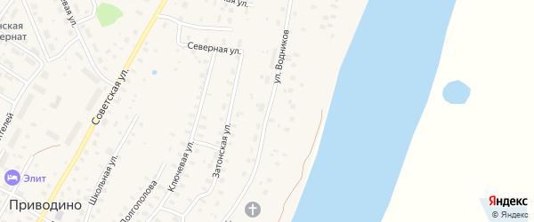 Улица Водников на карте садового некоммерческого товарищества СОТА Портовика-2 с номерами домов